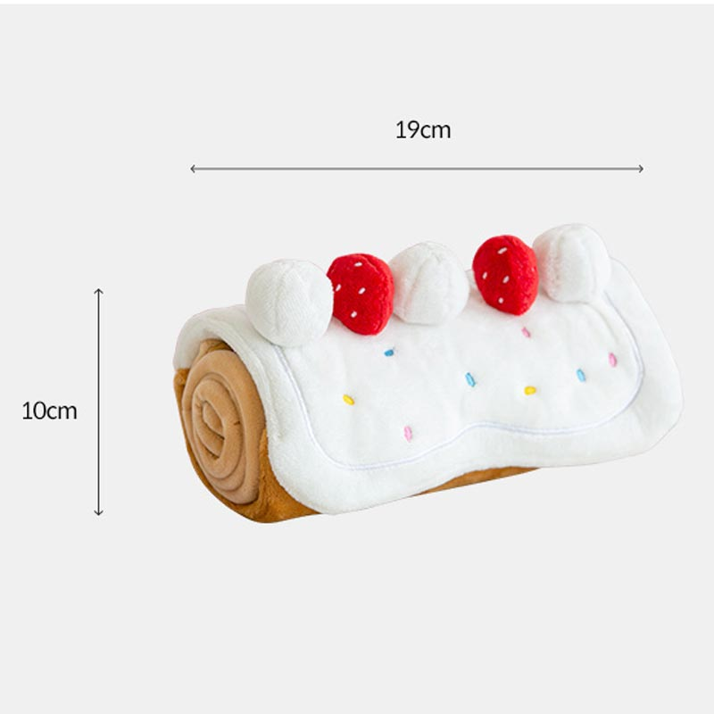 Roll Cake Nose Work Dog Toy