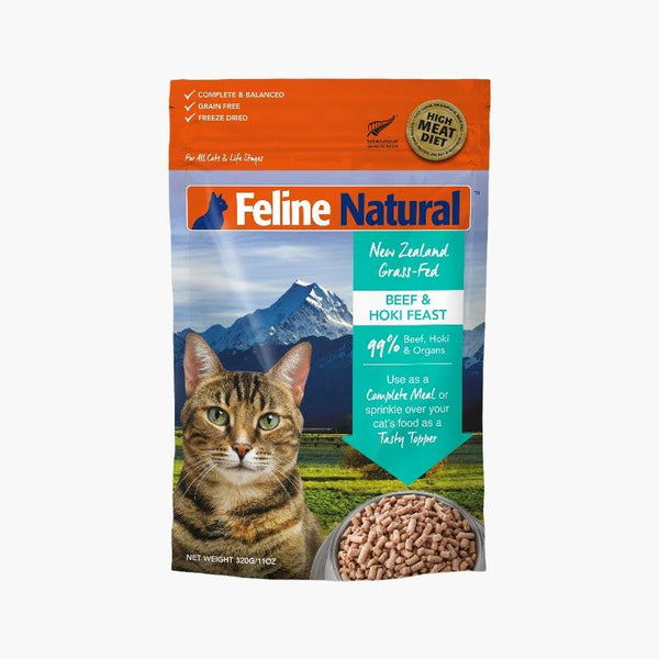 Feline Natural Feline Freeze Dried Beef & Hoki (2 Sizes) - CreatureLand