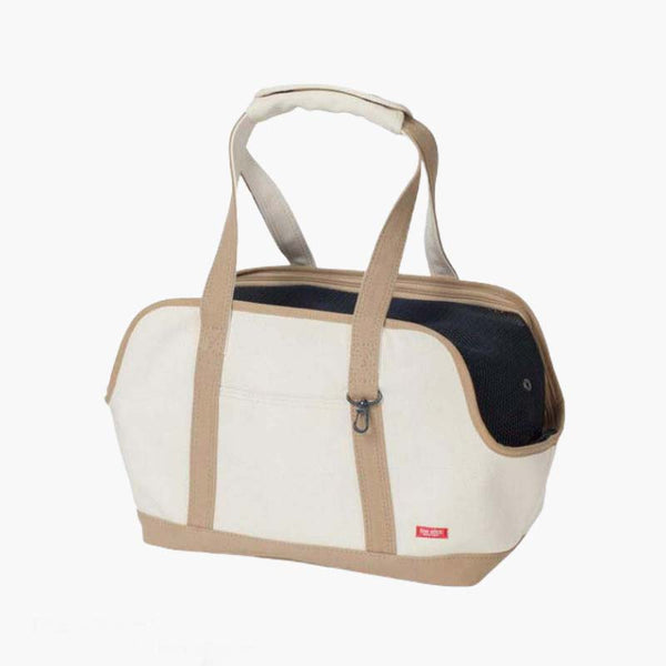 freestitch Square Tote Carry Bag - Beige - CreatureLand