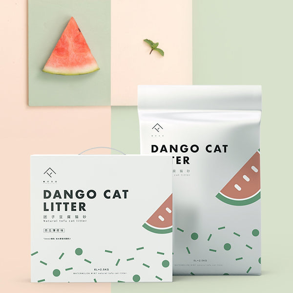 Furrytail Dango Natural Tofu Cat Litter - 4 Flavours - CreatureLand