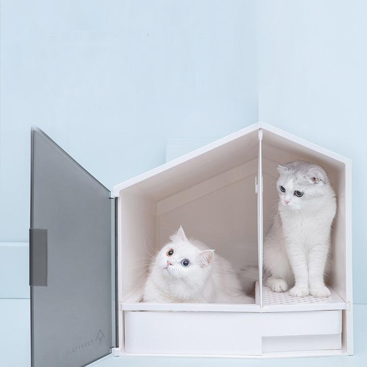 Furrytail Glow House Litter Box - CreatureLand