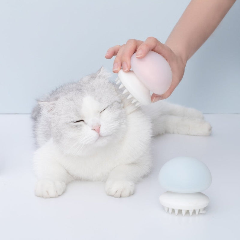 Furrytail Jellyfish Massage Brush - CreatureLand