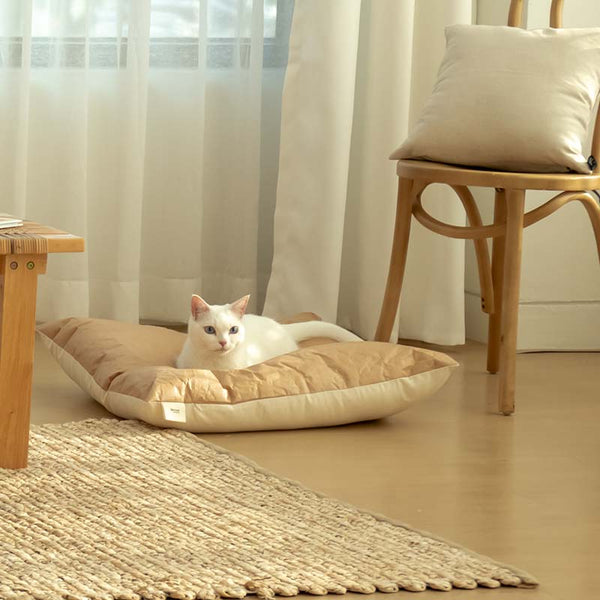 Gotta Go Home Tyvek® Pet Bed - Square - CreatureLand