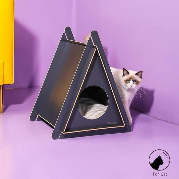 Hi Animal Hideout Pet House (2 Colours) - CreatureLand