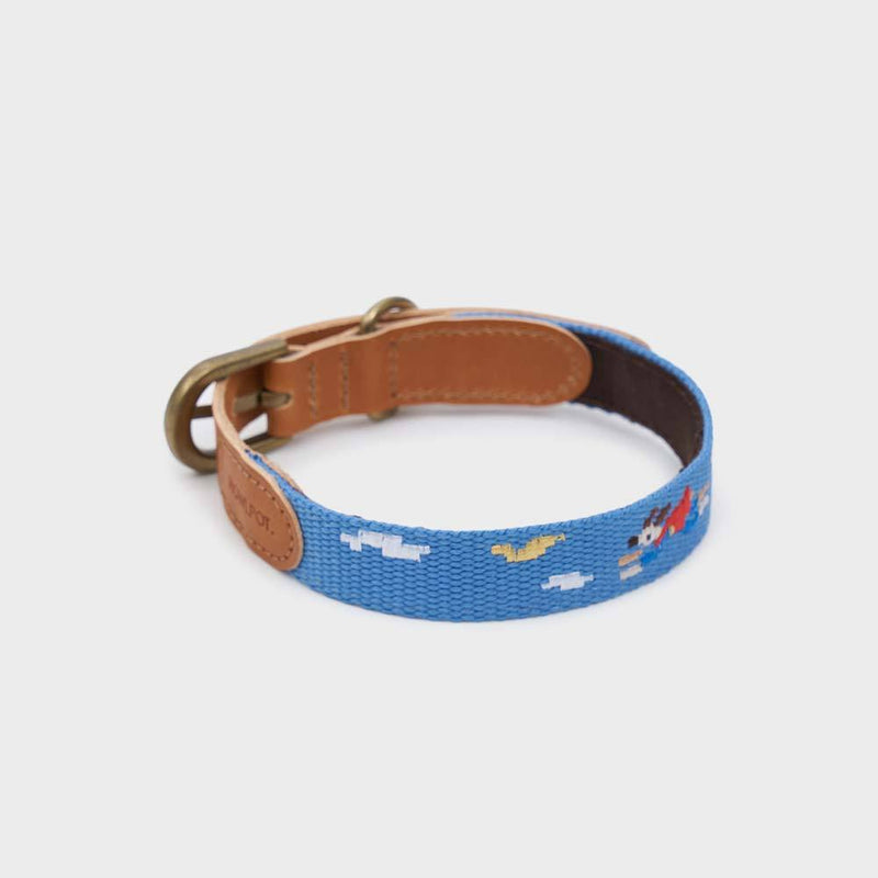 Howlpot Adventure Series Collar - Sky - CreatureLand