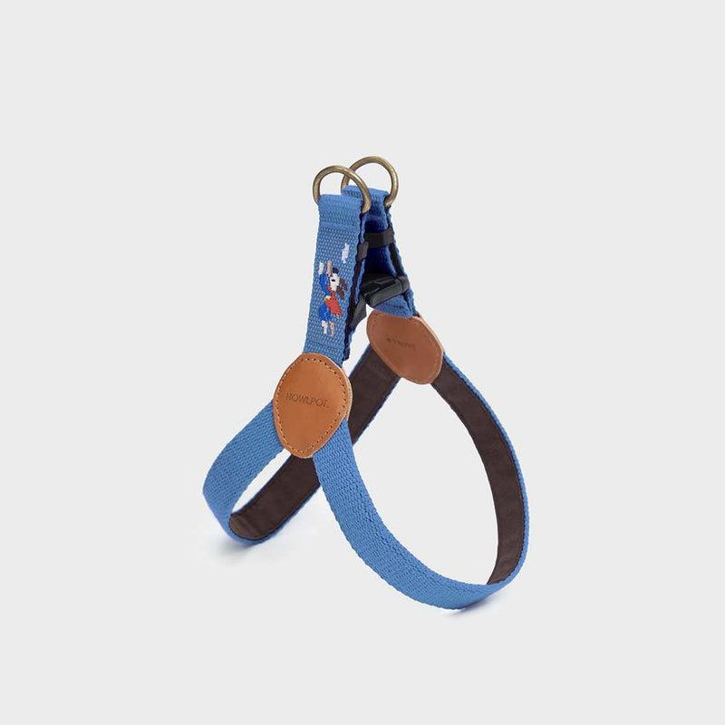 Howlpot Adventure Series Harness - Sky - CreatureLand