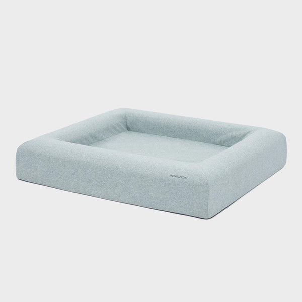 Howlpot Memory Foam Pet Bed - Cotton Blue - CreatureLand