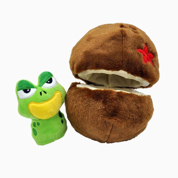 HugSmart Fruity Critterz – Coconut Dog Toy - CreatureLand