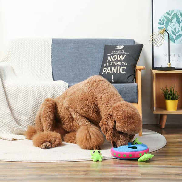 HugSmart Space Paws – UFO Puzzle Hunting Toy - CreatureLand