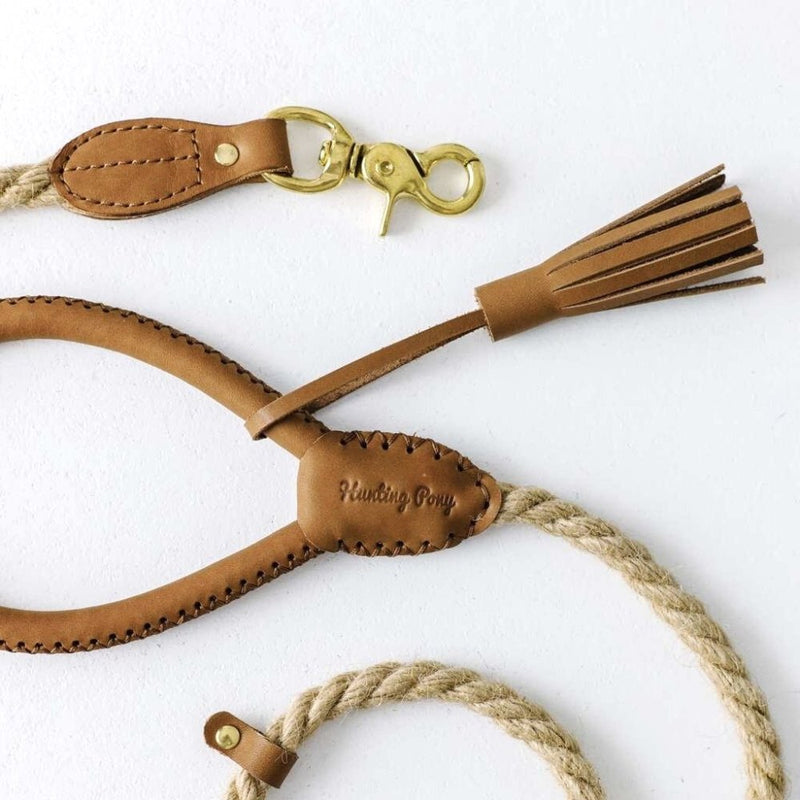 Hunting Pony COUNTRY PONY LEASH - BROWN - CreatureLand