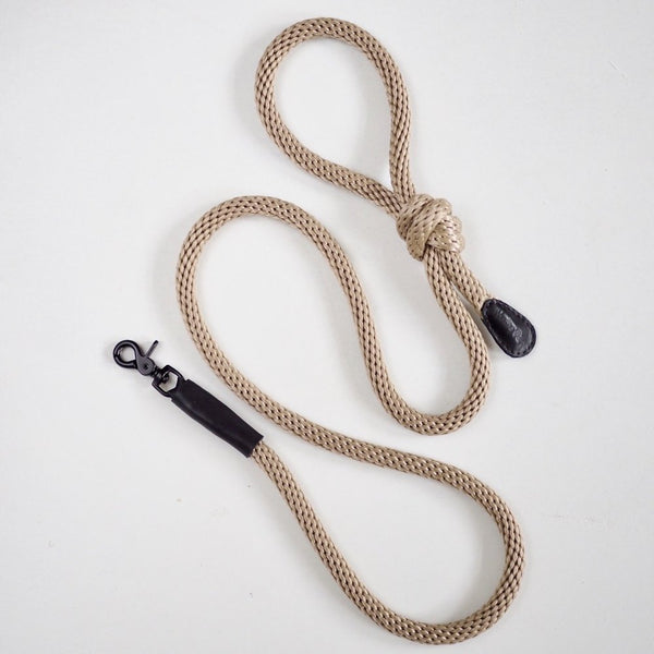 Hunting Pony PONY KNOTCONI LEASH - SAND - CreatureLand