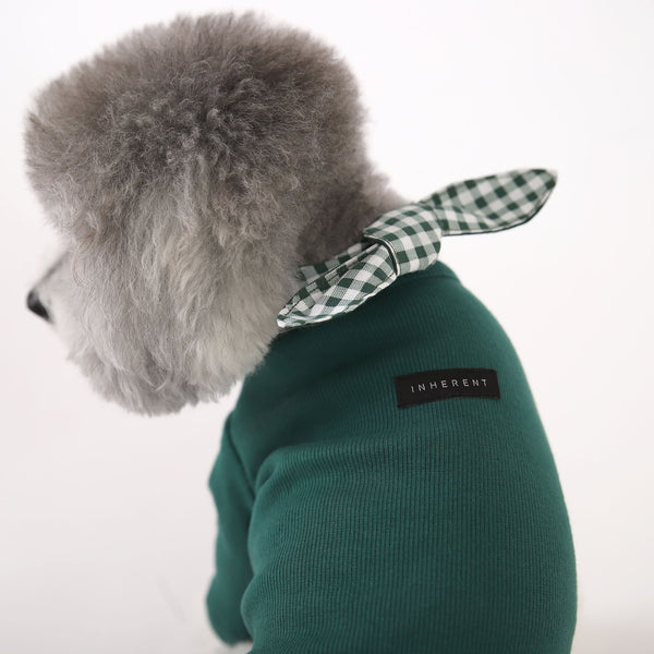Inherent Gelato Check Scarf - Green - CreatureLand