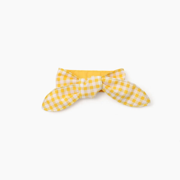 Inherent Gelato Check Scarf - Yellow - CreatureLand