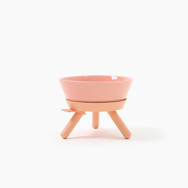 Inherent Oreo Medium Bowl - Pink - CreatureLand