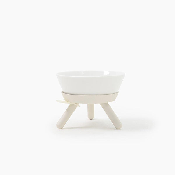 Inherent Oreo Medium Bowl - White - CreatureLand