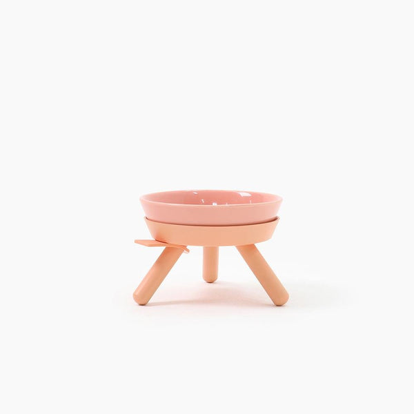 Inherent Oreo Small Bowl - Pink - CreatureLand