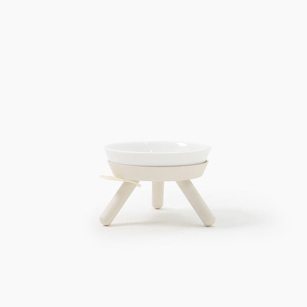 Inherent Oreo Small Bowl - White - CreatureLand