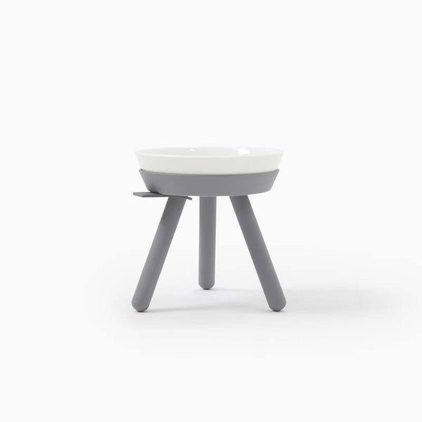 Inherent Oreo Table Grey - Tall Small - CreatureLand