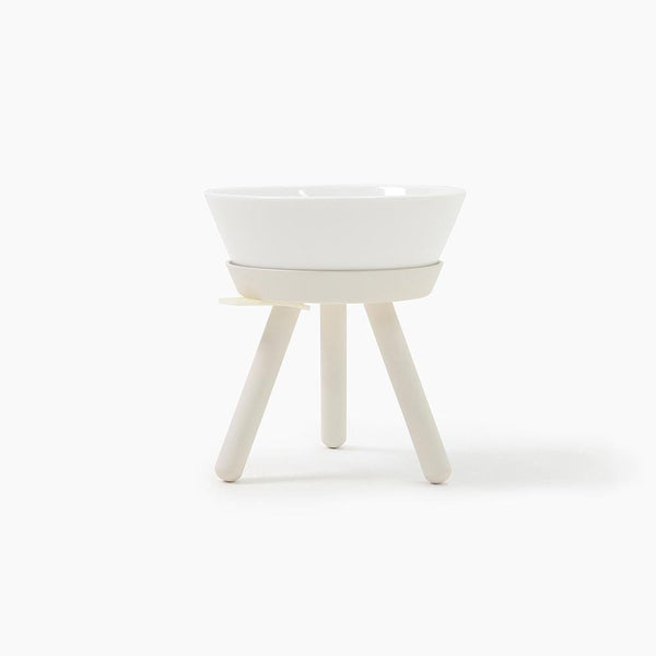 Inherent Oreo Table White - Tall Medium - CreatureLand