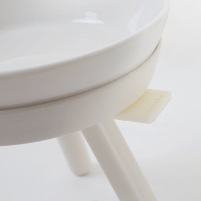Inherent Oreo Table White - Tall Small - CreatureLand
