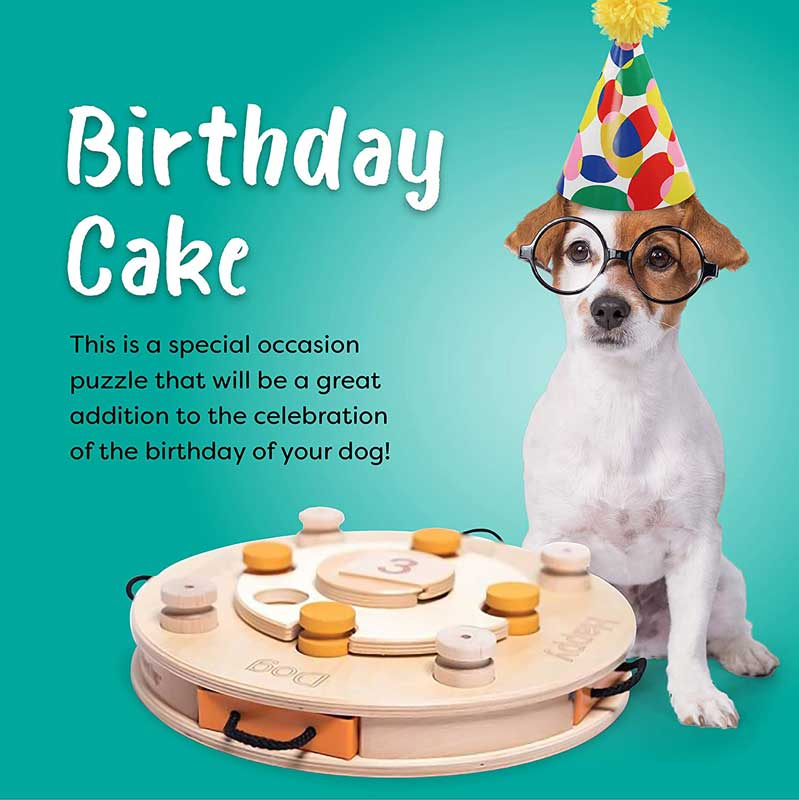 My Intelligent Pets Interactive Puzzle Game - Birthday Cake - CreatureLand