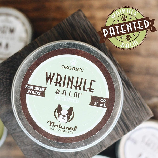 Natural Dog Company Organic Wrinkle Balm® - CreatureLand