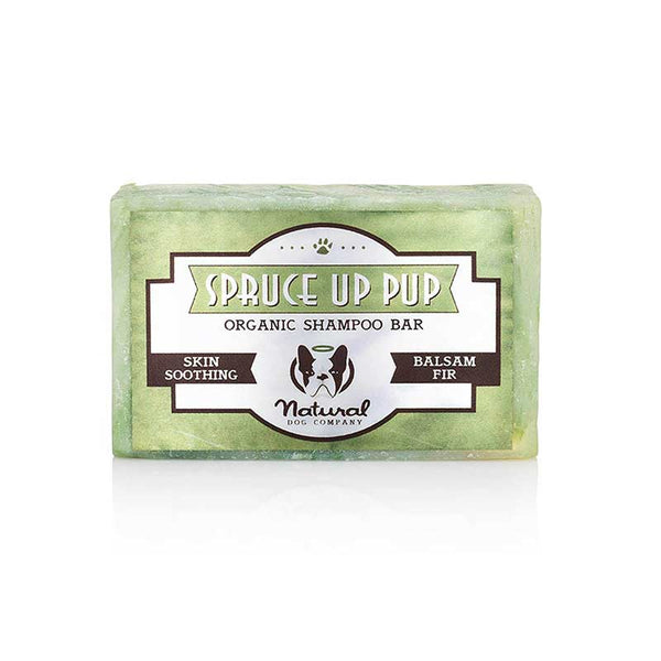 Natural Dog Company Spruce Up Organic Shampoo Bars For Dogs - CreatureLand