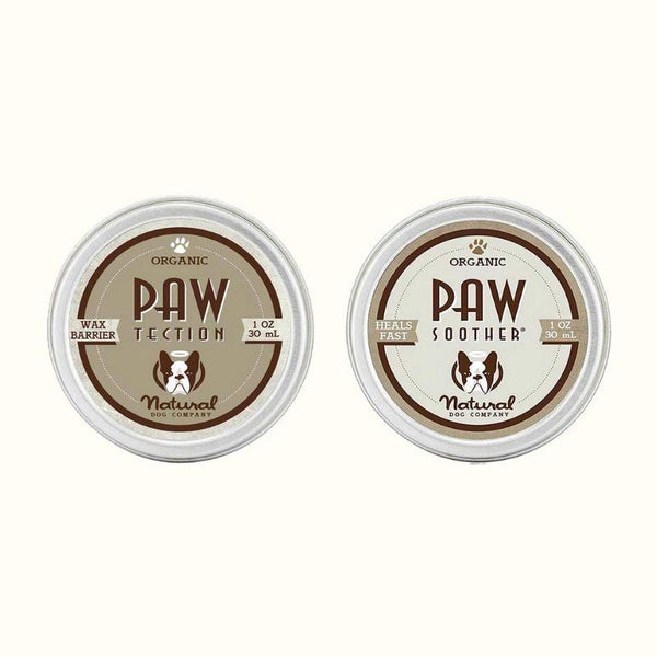 Natural Dog Company The Paw Set - PawTection + Paw Soother® - CreatureLand