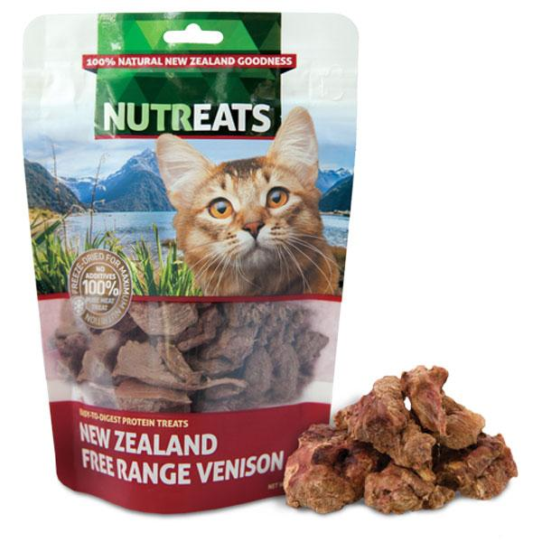 Nutreats Free Range Venison Premium Cat Treats - CreatureLand