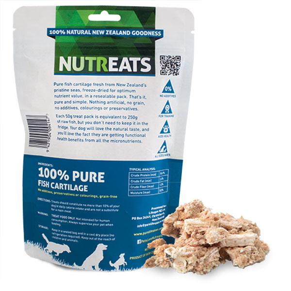 Nutreats Ocean Fish Cartilage Premium Dog Treats - CreatureLand
