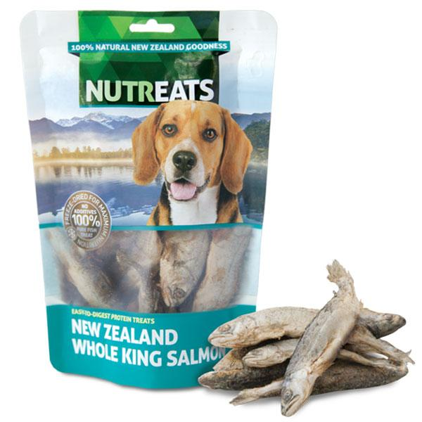 Nutreats Whole King Salmon Premium Dog Treats - CreatureLand