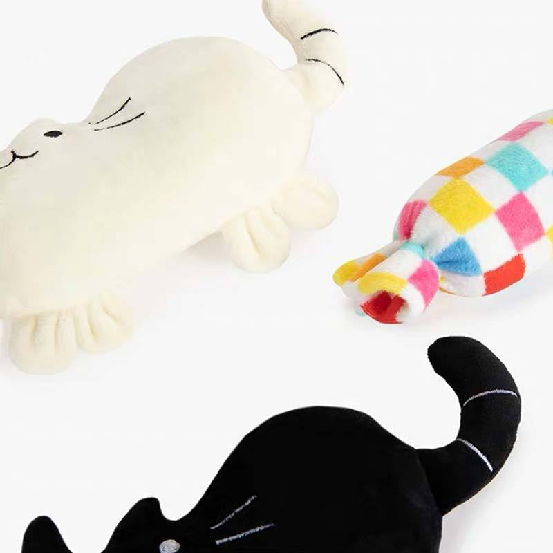 OCE Cat & Candy Dog Toy Set (2 Colours) - CreatureLand
