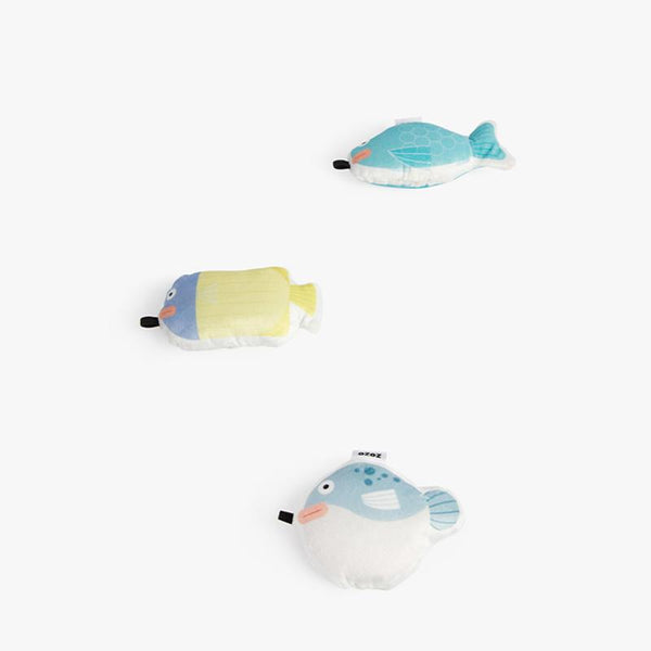 OCE Fishing Day Cat Teaser (Set of 3) - CreatureLand