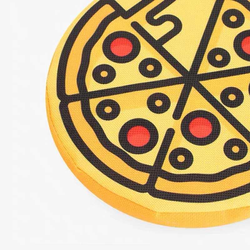 OCE Pizza Flyer Dog Toy - CreatureLand