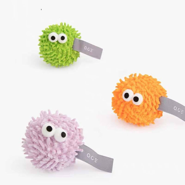 OCE Wooly Monster Catnip Toy (Set of 2) - CreatureLand
