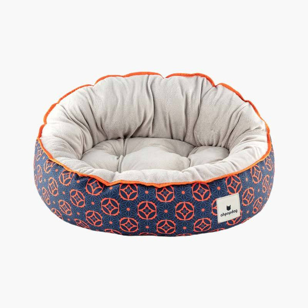Ohpopdog Baba Navy 150 Reversible Pet Bed - CreatureLand