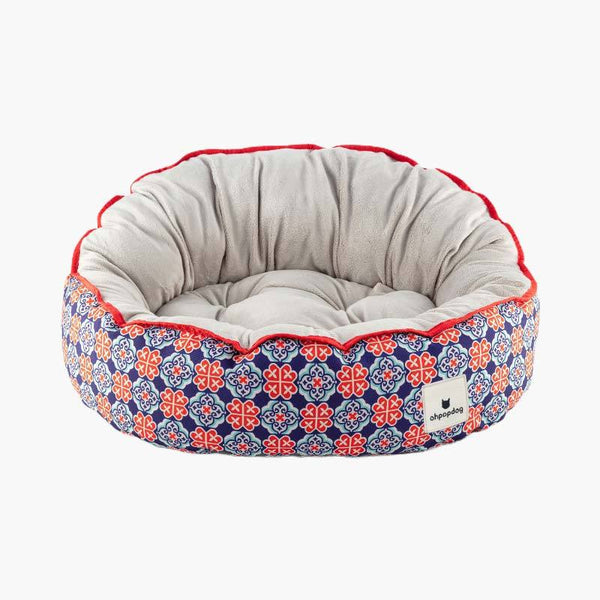 Ohpopdog Royal Blue 150 Reversible Pet Bed - CreatureLand