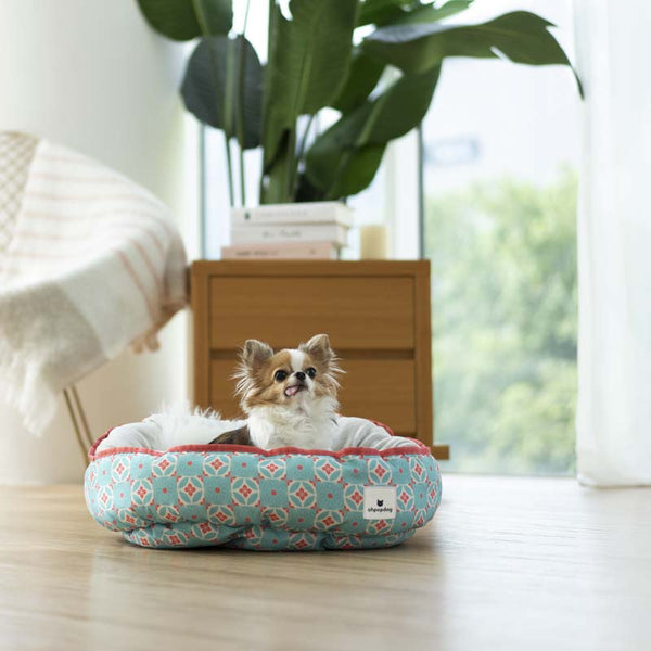Ohpopdog Straits Mint 17 Reversible Pet Bed - CreatureLand