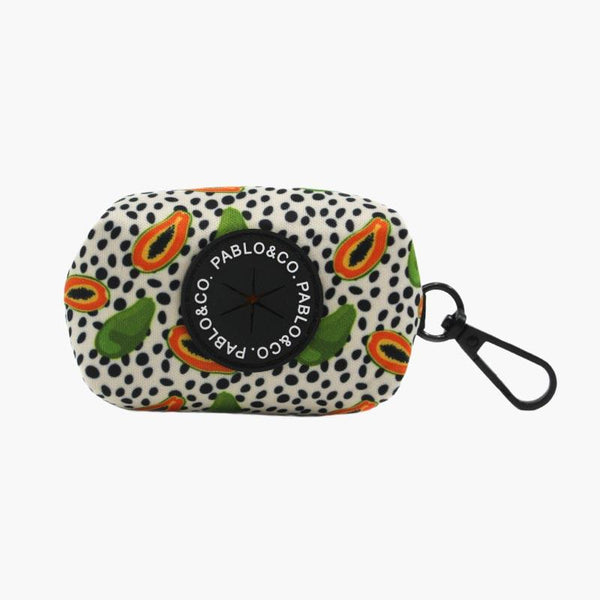 PABLO & Co. Poop Bag Carrier - Papaya - CreatureLand
