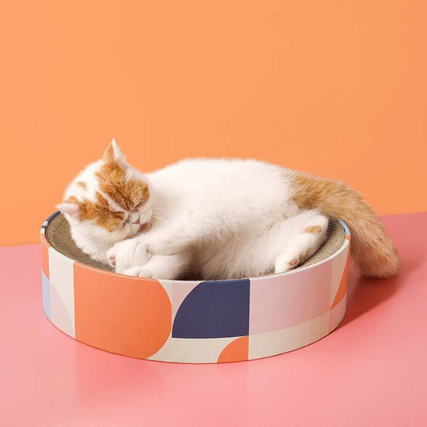 Petshy Bowl Cat Scratcher (2 Colours) - CreatureLand