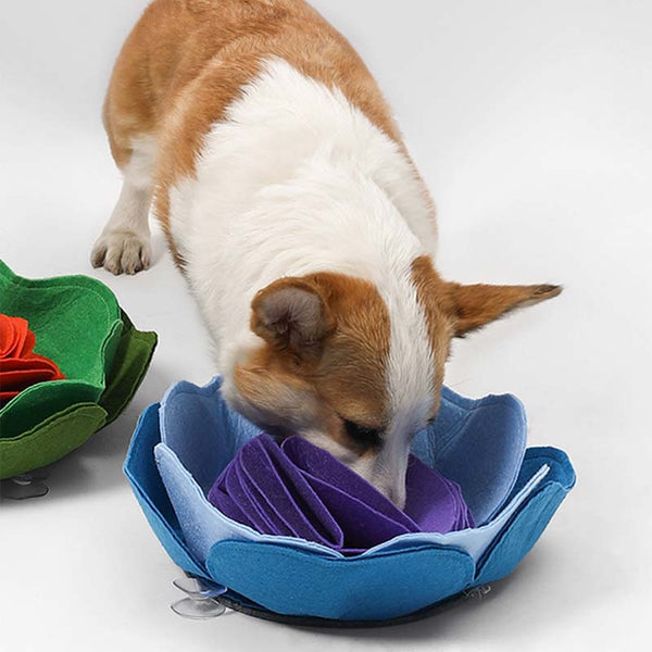 Petshy Flower Snuffle Mat (2 Colours) - CreatureLand