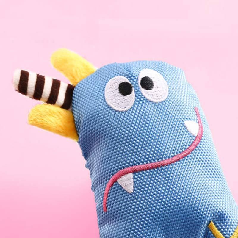 Petshy Lil Monster Dog Toy (3 Designs) - CreatureLand
