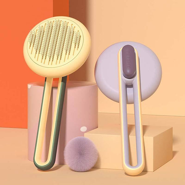 Petshy Soft Teeth Pet Brush (2 Colours) - CreatureLand