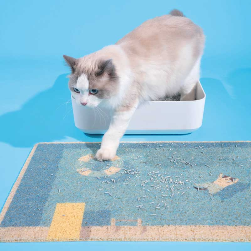 PurLab Summer Pool Cat Litter Mat - CreatureLand