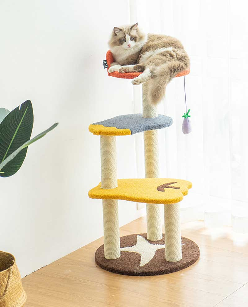 PurLab Vegetable Garden Cat Condo - CreatureLand