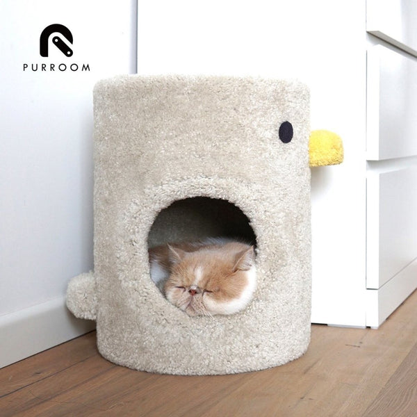 Purroom Double Deck Cat House - CreatureLand