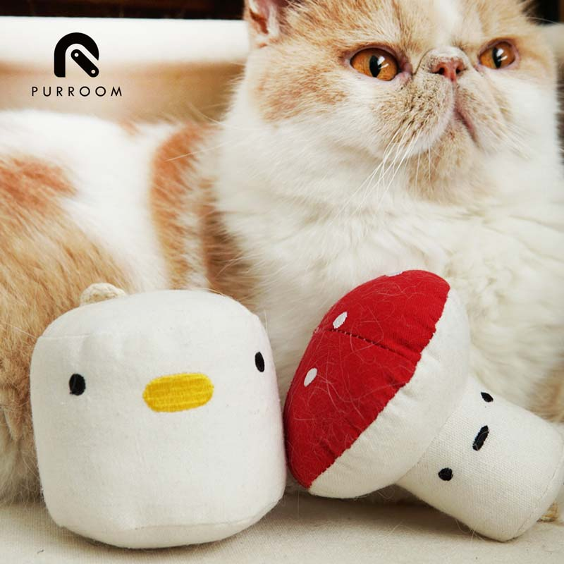 Purroom Little Chick Catnip Plush Toy - CreatureLand