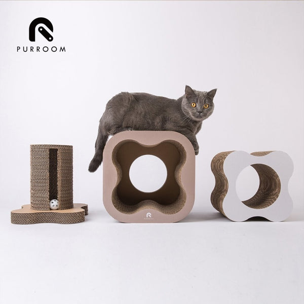 Purroom Plumeria Cat Scratcher - CreatureLand
