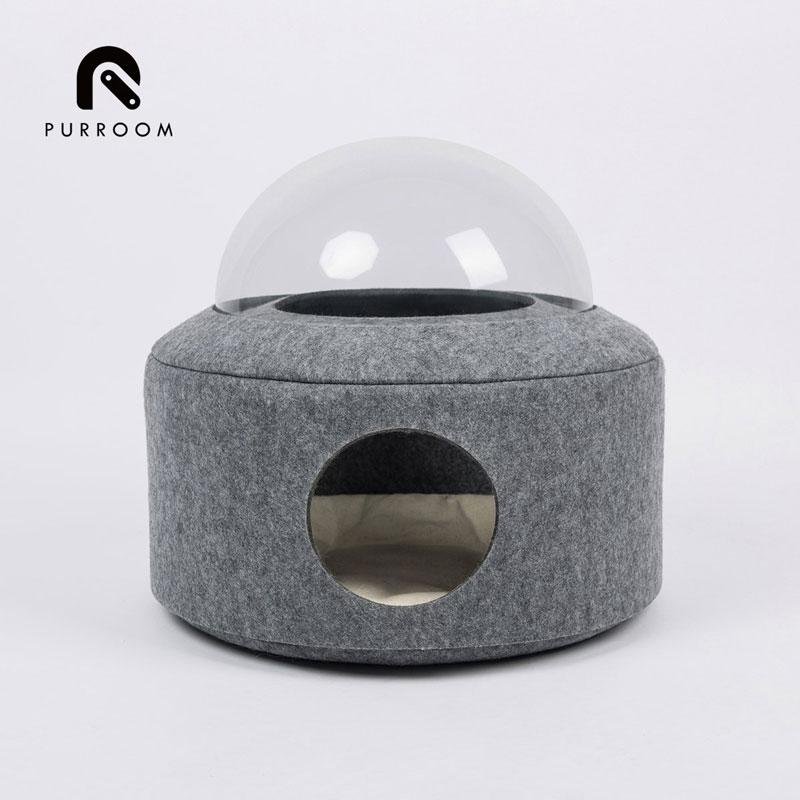 Purroom Spacecraft Pet Bed - CreatureLand