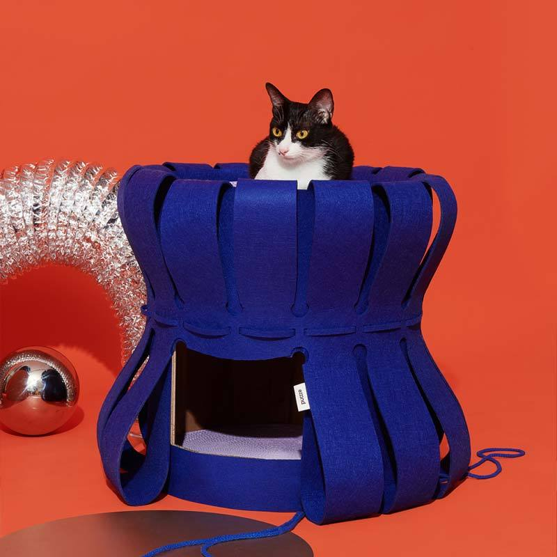 Purrre Fortress Traveller Scratcher Replacement (2 Colours) - CreatureLand